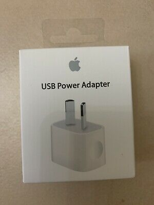 AU14.98 • Buy Genuine Apple IPhone 5W Wall Charger Adapter For 6 6s Plus 7 8 X 11 Pro IPad