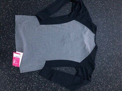 NEW Fitness Clothing (mesh Sleeves Only) Zip Top Size M, Soft Touch  • 10£