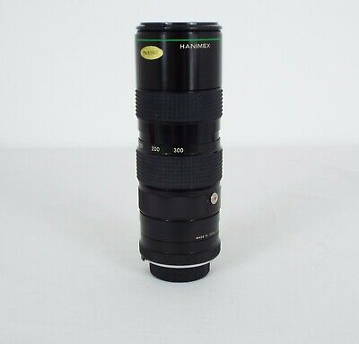 Hanimex - Camera Lens - 300mm Macro Lens - Auto Zoom - 1:6.5 • 15£