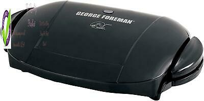 Or Foreman 5-Serving Removable Plate Electric Indoor Grill And Panini Press, Bla • 53.93£