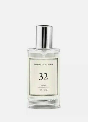 FM 32 Pure Collection Federico Mahora Perfume For Women 50ml (UK) • 11£