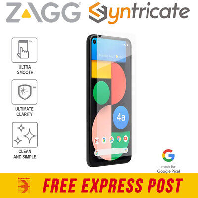AU49.95 • Buy Google Pixel 4A 5G ZAGG InvisibleShield Glass Elite+ Screen Protector