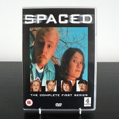 Spaced - Complete First Series DVD 2001 Edgar Wright, Simon Pegg, Jessica Hynes • 2.49£
