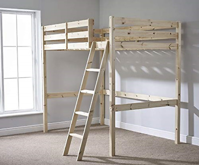 Strictly Beds And Bunks - High Sleeper Loft Bunk Bed, 4ft 6 Double • 274.15£