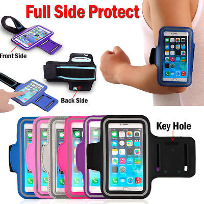 Gym Running Jogging Arm Band Sports Armband Case Holder Strap For IPhone 8 7 6s6 • 3.99£