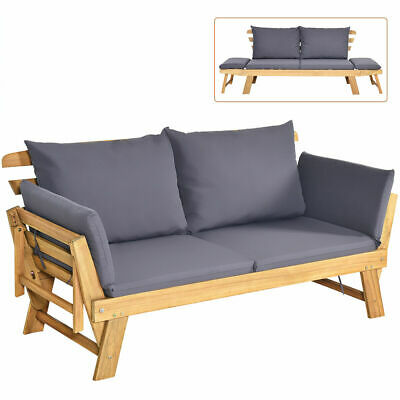 Nursing Glider Rocking Chair Reclining Maternity Chair W/Footstool Baby Nursery • 139.99£
