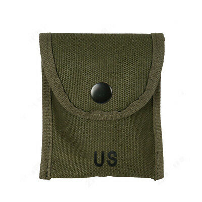 $14.99 • Buy Us Army Vietnam War M1956 Compass Bag Canvas First Aid Kit Pouch