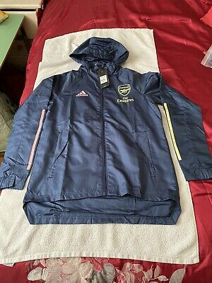 Arsenal 20/21 Rain Jacket Size Medium BNWT (Read Description) • 36£