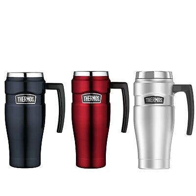 AU39.69 • Buy New THERMOS Stainless King S/Steel Vacuum Insulated Travel Mug 470ml With Handle
