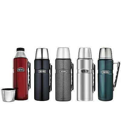 AU66.99 • Buy New THERMOS Stainless King S/Steel Vacuum Insulated Flask 2.0 Litre Genuine