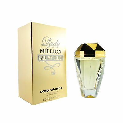 Paco Rabanne Lady Million Eau My Gold! Women EDT Spray 80ml • 36.99£