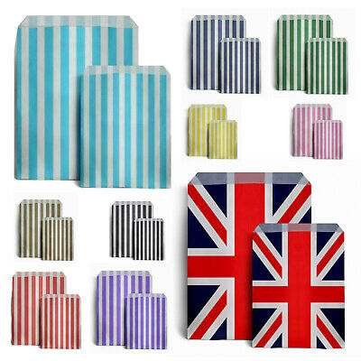 £1.95 • Buy Candy Paper Bag Sweet Favour Gift Bag Shop Party Wedding Birthday Union Jack Bag