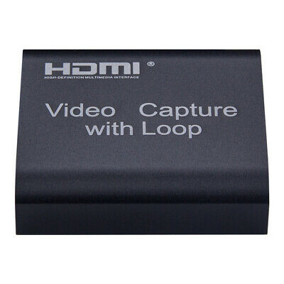 Portable 4K HDMI To USB 3.0 Video Capture Card Recorder For Game Live Streaming • 15.11£