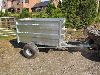 £880 • Buy Tipping Trailer For Use With  ATV Quad Bike, Compact Tractor