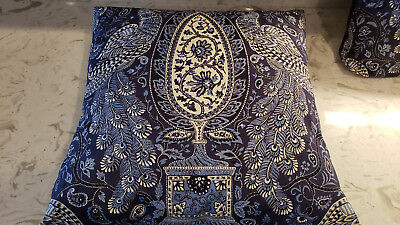 2 18 X18  Square Peacock Pillow Case Covers Home Couch Decorative Chair Bed • 11.40£