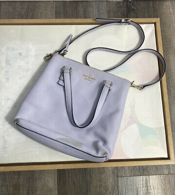 $ CDN31.88 • Buy Kate Spade Periwinkle Blue Purple Crossbody Tote Purse Handbag