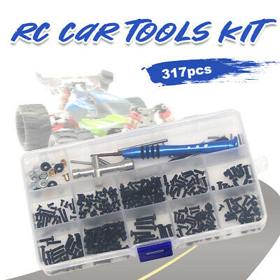 Toys Repair Supplies Hex Wrench RC Car Tools Kit With Box For Wltoys 1:14 144001 • 8.44£