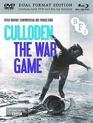 £10.99 • Buy Culloden + The War Game - BFI DVD & Blu Ray NEW & SEALED - Peter Watkins
