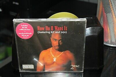 2 PAC Ft KC AND JOJO - How Do U Want It - CD SINGLE (BOX A12) • 2.45£