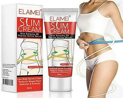 Elaimei 3D Extreme Thermo Fat Burner Slimming Cream Anti Cellulite Body Removal • 5.90£