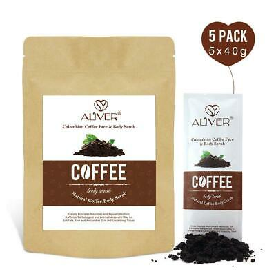 Colombian Coffee Natural Body Scrub Exfoliating Anti-Cellulite Stretch Marks • 4.80£
