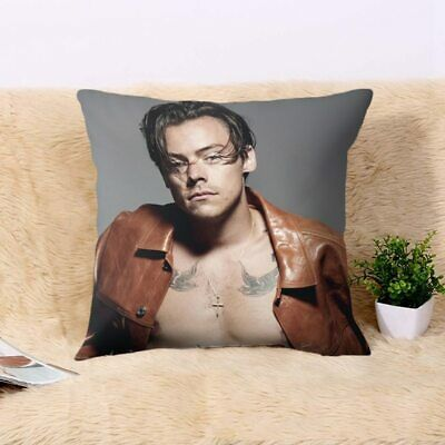 £5.66 • Buy Harry Styles Pillow Case Cover Cute One Direction Singer Cushion Cover