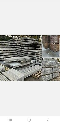 Buy Direct New Concrete Gravel Boards Fence Post Slotted  All Sizes In Stock Now • 15£