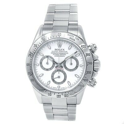 $ CDN25335.94 • Buy Rolex Daytona Stainless Steel Oyster Automatic White Men's Watch 116520