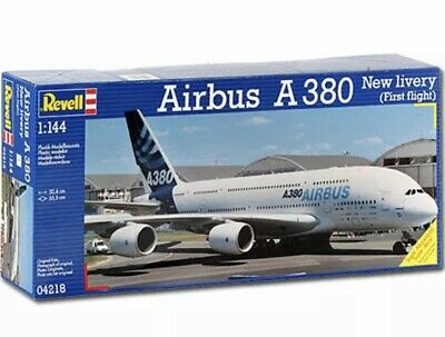 REVELL Airbus A380 New Livery 1:144 Aircraft Model Kit - 04218 - Opened Not Used • 23.99£