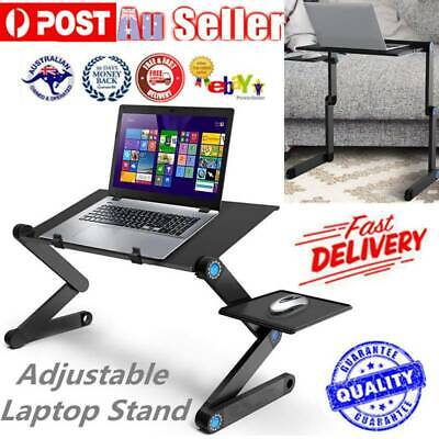 AU21.15 • Buy Foldable Laptop Stand Table Tray Portable Adjustable Lap Desk For Bed Sofa AU