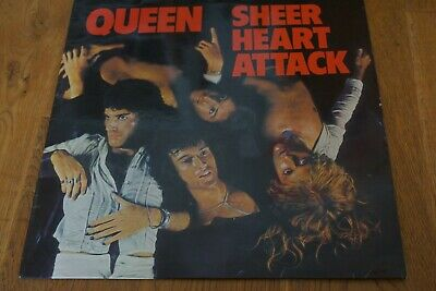 Queen Sheer Heart Attack Original Uk Release With Inner Lyric Sleeve Laminated • 29.99£