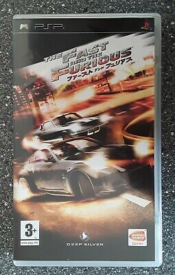 PSP  The Fast And The Furious Tokyo Drift • 15.95£