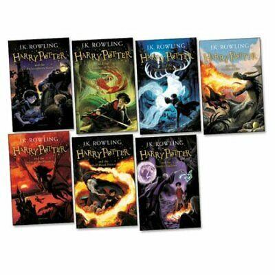 $ CDN55.01 • Buy Harry Potter Complete Collection Book Set Pack Books (7 Paperbacks) Brand New