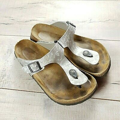 Womens Birkenstock Papillio Gizeh Sandals Size 41 Regular UK 7.5  #B60 • 28£