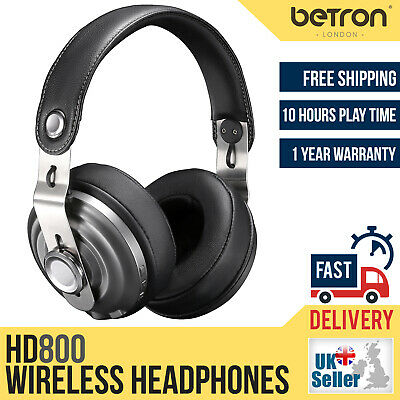 View Details Betron HD800 Wireless Bluetooth Headphones Built In Mic, Remote Over Ear Headset • 34.98£