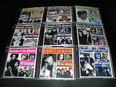 Time Life Sounds Of The Sixties Still Swinging Complete 9 X 2CD Sets 1960-69 Pop • 369£