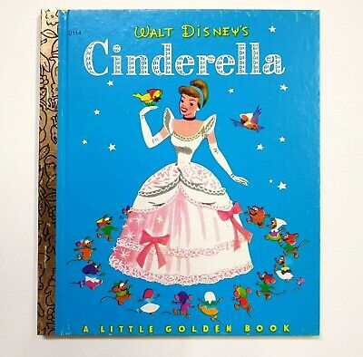 £7.17 • Buy Cinderella, Vintage Little Golden Book, 1974