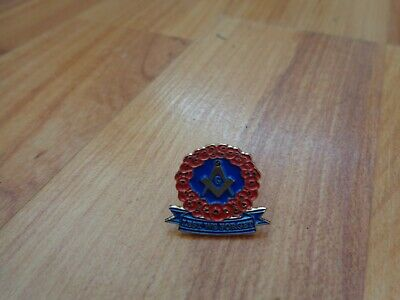 £9.99 • Buy Classic Glasgow Rangers Fc 'lest We Forget' Remembrance Poppies Enamel Pin Badge