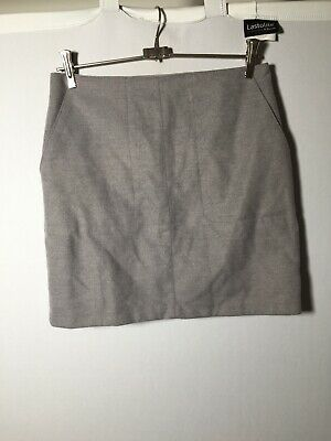 AU22.05 • Buy Forever New Womens Grey Mini Skirt Size 10 W28 Inch With Pockets Good Condition