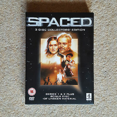 Spaced - Definitive Collectors' Edition [3 X DVD Series 1 & 2] Pegg Stevenson • 9.99£