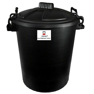 £14.99 • Buy Srendi® 50L Plastic Bin/Waterfroof/Rodent Proof/Ideal For Outdoor/Animal Feed/Fo