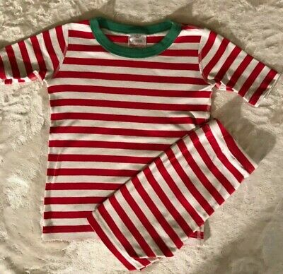 $15 • Buy Hanna Andersson Red White And Green Christmas Short Pajamas Size 140 (10)