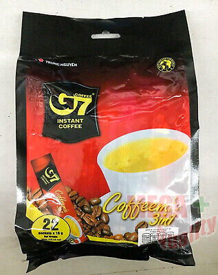 AU29.98 • Buy G7 Vietnam 3-in-1 Instant Coffee Mix Powder 22 Sachets 16g.