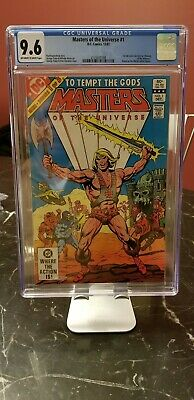 $136.30 • Buy Masters Of The Universe 1 CGC 9.6 Near Mint+ Free Shipping!