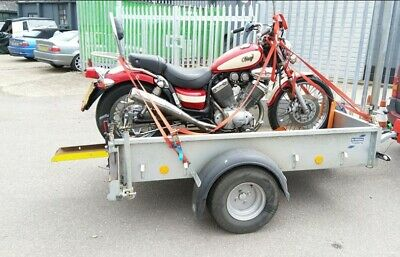 700kg Motorcycle Trailer Attachment Ifor Williams P6e Chopper Low Rider Recovery • 350£