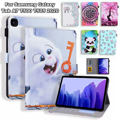 For Samsung Galaxy Tab A7 2020 T500 T505 10.4 Inch Wallet Stand Tablet Skin Case • 10.58£