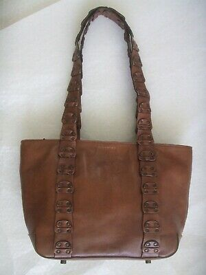 Women's Hidesign Good Quality Tan Brown Leather Handbag Shoulder Bag Medium  • 24.99£