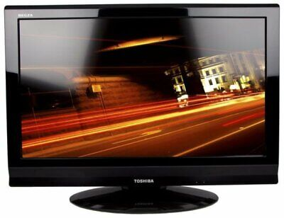 32  Toshiba Regza 720p HD Freeview LCD TV With Remote Control/Stand 32AV615DB • 80£