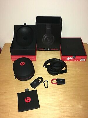 Genuine Beats By Dr. Dre Studio 2.0 Wireless Headphones Special Ed. Matte Black • 99.99£