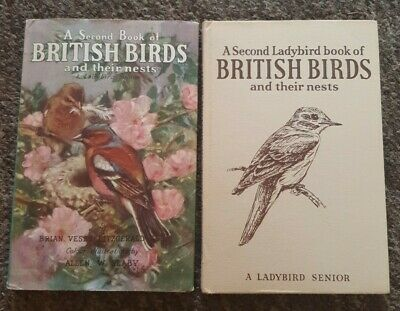 Ladybird Books A Second Book Of British Birds And Their Nests 2'6d Series 536 VG • 9.99£